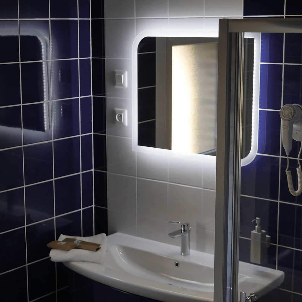Gîte Baie de Somme Salle de bain et douche Lavabo