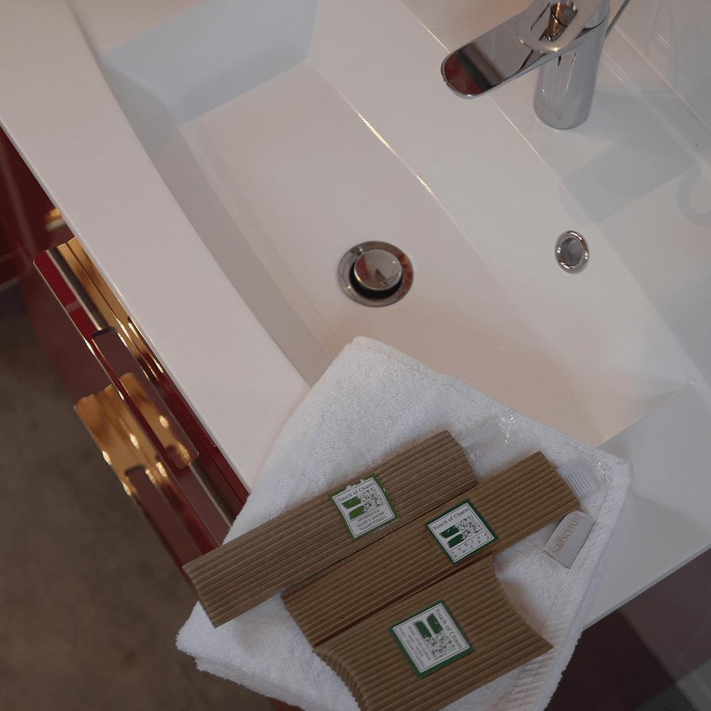 Salle d'eau second étage cadeau de bienvenue
